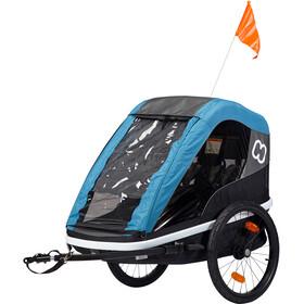 Hamax Avenida Bike Trailer petrol blue